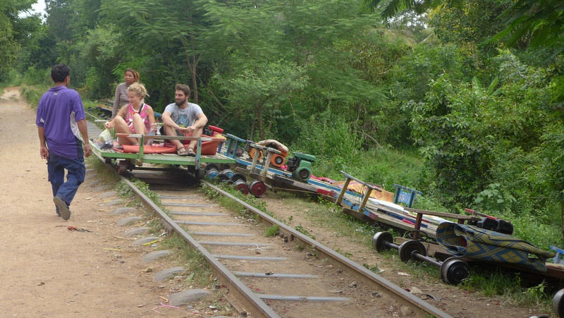 The Bamboo Railway, now mainly for tourists