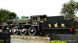 Steam Locomotive 719